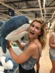 Shark pillow stuffed animal ikea kids toy
