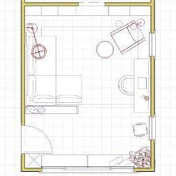Space Plan Blueprint