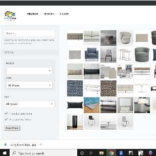 Furniture & Decor Selection Software
